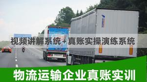 物流运输企业真账实训